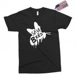 save the bees Exclusive T-shirt   Artistshot