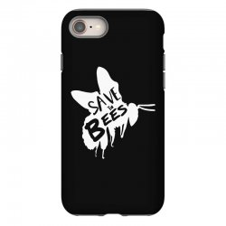 save the bees iPhone 8 Case   Artistshot