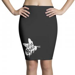 save the bees Pencil Skirts   Artistshot
