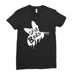 save the bees Ladies Fitted T-Shirt   Artistshot