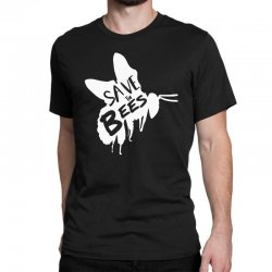 save the bees Classic T-shirt   Artistshot