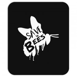 save the bees Mousepad   Artistshot
