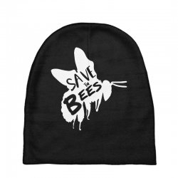 save the bees Baby Beanies   Artistshot