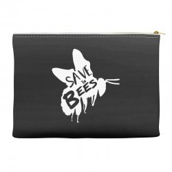 save the bees Accessory Pouches   Artistshot