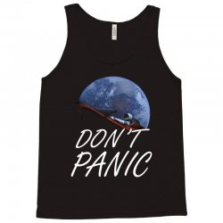 spacex don't panic in space Tank Top   Artistshot