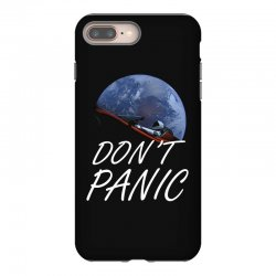 spacex don't panic in space iPhone 8 Plus Case   Artistshot