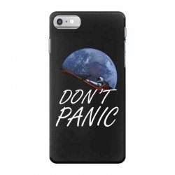 spacex don't panic in space iPhone 7 Case   Artistshot