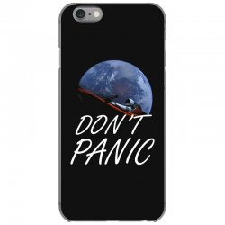 spacex don't panic in space iPhone 6/6s Case   Artistshot