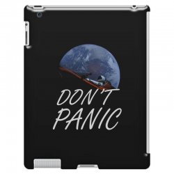 spacex don't panic in space iPad 3 and 4 Case   Artistshot