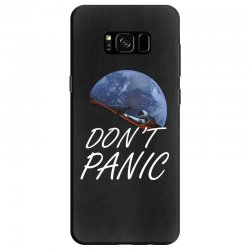 spacex don't panic in space Samsung Galaxy S8 Case   Artistshot