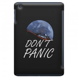 spacex don't panic in space iPad Mini Case   Artistshot