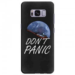 spacex don't panic in space Samsung Galaxy S8 Plus Case   Artistshot