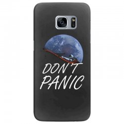 spacex don't panic in space Samsung Galaxy S7 Edge Case   Artistshot