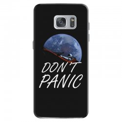 spacex don't panic in space Samsung Galaxy S7 Case   Artistshot