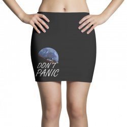 spacex don't panic in space Mini Skirts   Artistshot