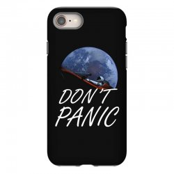 spacex don't panic in space iPhone 8 Case   Artistshot