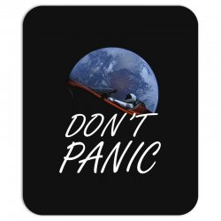 spacex don't panic in space Mousepad   Artistshot