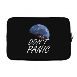 spacex don't panic in space Laptop sleeve   Artistshot
