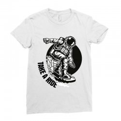 take a ride Ladies Fitted T-Shirt   Artistshot