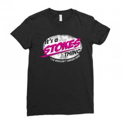 stokes Ladies Fitted T-Shirt | Artistshot