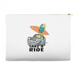 take a ride Accessory Pouches | Artistshot