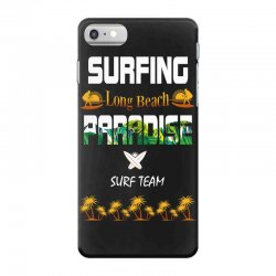 surfing log beach paradise surf team 1 iPhone 7 Case | Artistshot