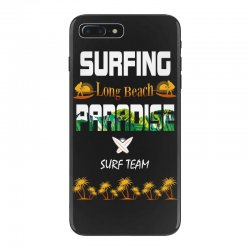 surfing log beach paradise surf team 1 iPhone 7 Plus Case | Artistshot