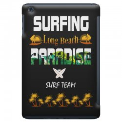 surfing log beach paradise surf team 1 iPad Mini Case | Artistshot