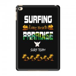surfing log beach paradise surf team 1 iPad Mini 4 Case | Artistshot