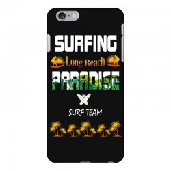 surfing log beach paradise surf team 1 iPhone 6 Plus/6s Plus Case | Artistshot