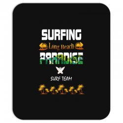 surfing log beach paradise surf team 1 Mousepad | Artistshot