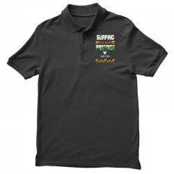 surfing log beach paradise surf team 1 Polo Shirt | Artistshot