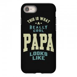 Really Cool Papa iPhone 8 Case | Artistshot