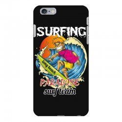 surfing log beach paradise surf team iPhone 6 Plus/6s Plus Case | Artistshot