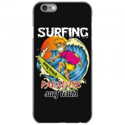 surfing log beach paradise surf team iPhone 6/6s Case | Artistshot