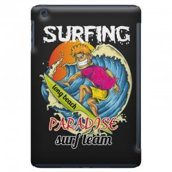 surfing log beach paradise surf team iPad Mini Case | Artistshot