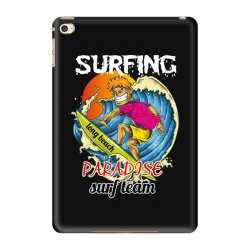 surfing log beach paradise surf team iPad Mini 4 Case | Artistshot