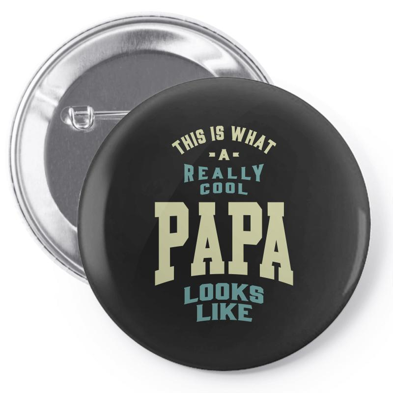 Really Cool Papa Pin-back Button | Artistshot