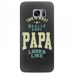 Really Cool Papa Samsung Galaxy S7 Edge Case | Artistshot