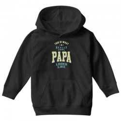 Really Cool Papa Youth Hoodie | Artistshot