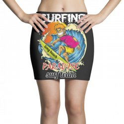 surfing log beach paradise surf team Mini Skirts | Artistshot