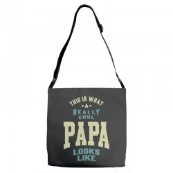 Really Cool Papa Adjustable Strap Totes | Artistshot