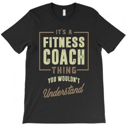 Fitness Coach T-shirt Designed By Cidolopez