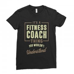 Fitness Coach Ladies Fitted T-Shirt | Artistshot