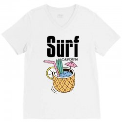 surf california V-Neck Tee | Artistshot