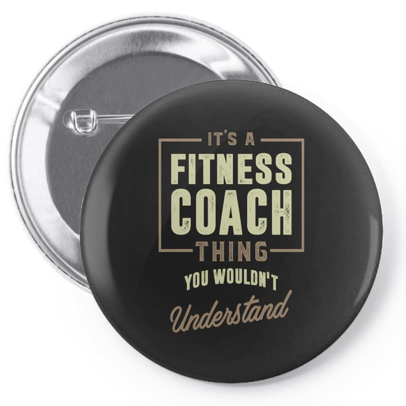Fitness Coach Pin-back Button | Artistshot