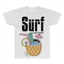 surf california All Over Men's T-shirt | Artistshot