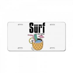surf california License Plate | Artistshot