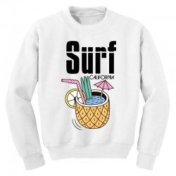 surf california Youth Sweatshirt | Artistshot