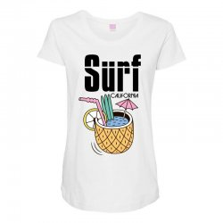 surf california Maternity Scoop Neck T-shirt | Artistshot